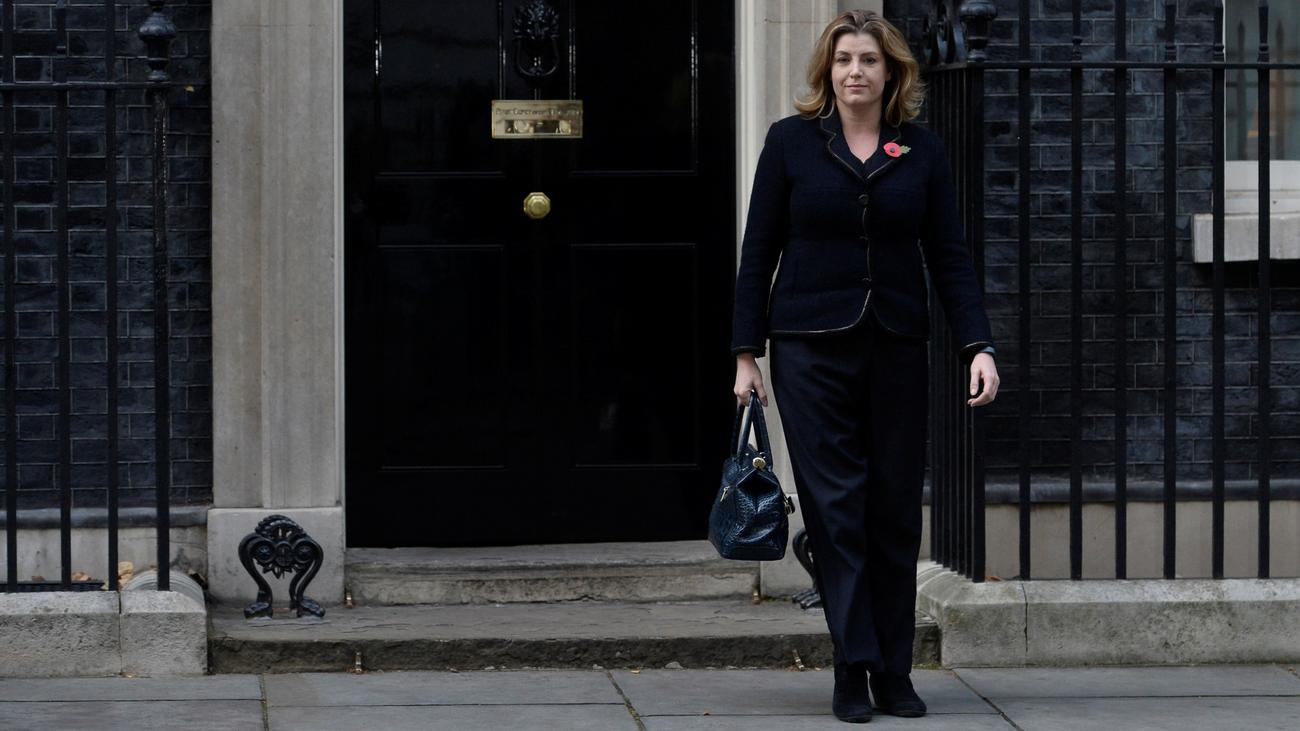 Penny Mordaunt: Theres...