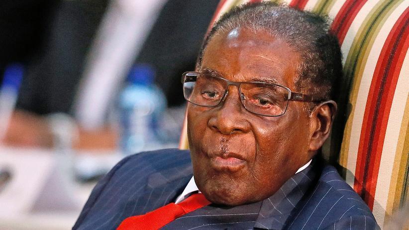 Robert Mugabe Simbabwe