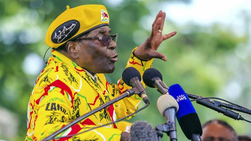 Simbabwe: Diktator unter Hausarrest