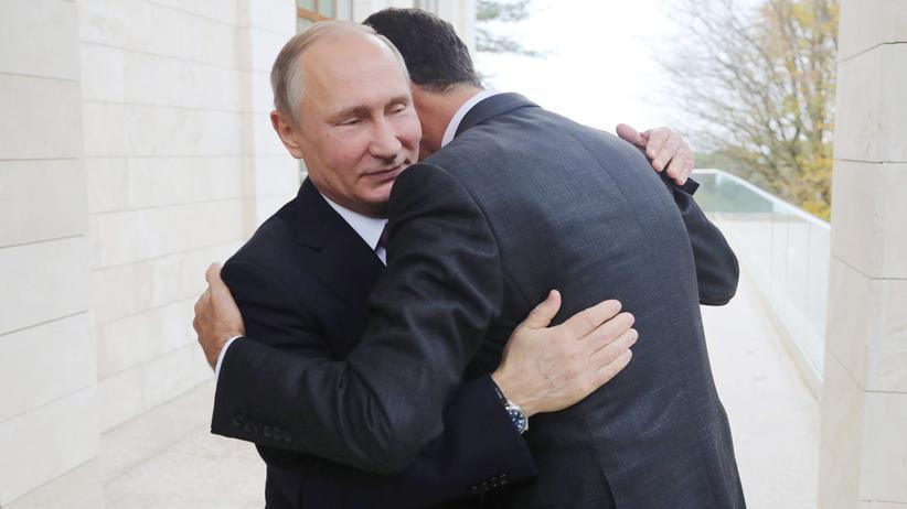 Sotschi: Putin sieht Militäreinsatz in Syrien vor dem Ende