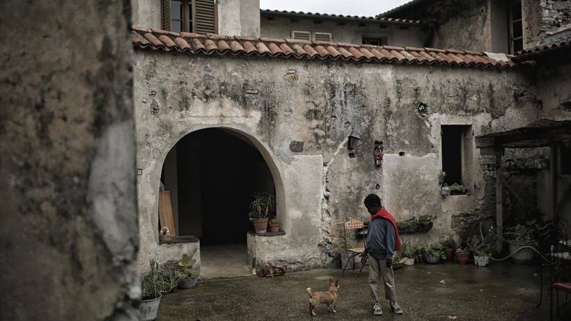 Südfrankreich: Einer der Höfe in Breil-sur-Roya