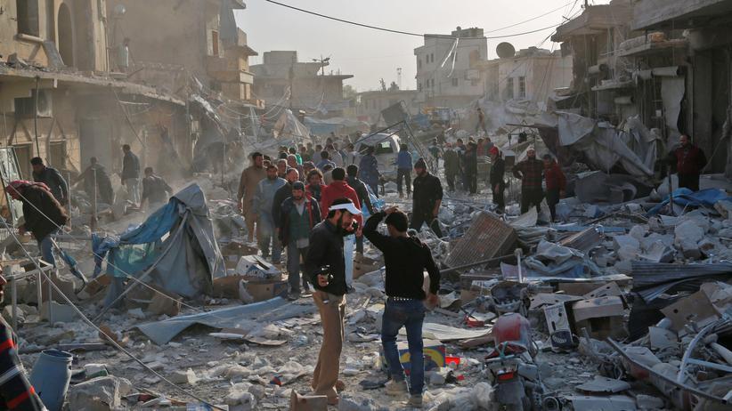 """Syrien: """"Das Regime will die Menschen kollektiv bestrafen"""""""