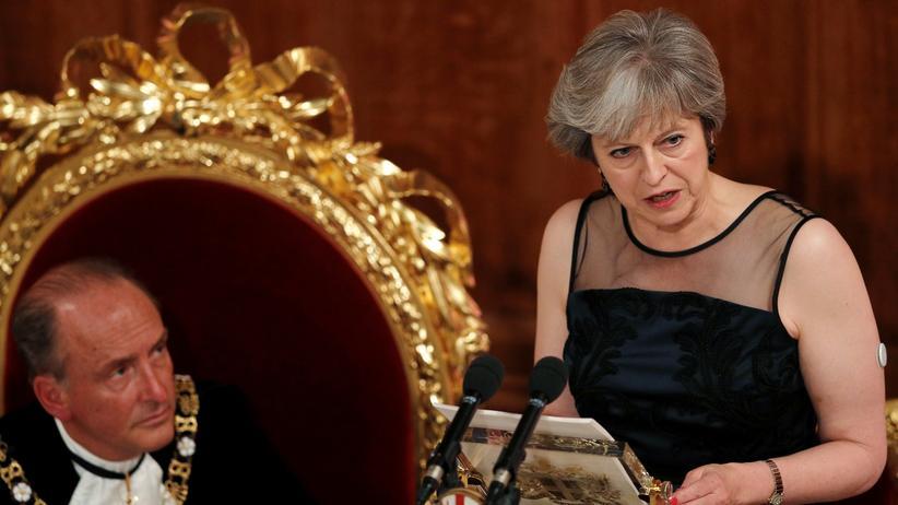Großbritannien: Großbritanniens Premierministerin
