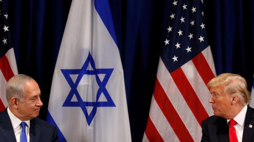 Nahostkonflikt: Israels Premierminister Benjamin Netanjahu und US-Präsident Donald Trump bei einem Treffen im September in New York.