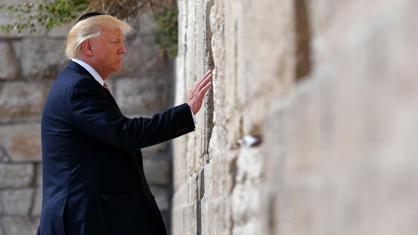 Jerusalem-Entscheidung: Israel will Bahnhof nach Donald Trump benennen