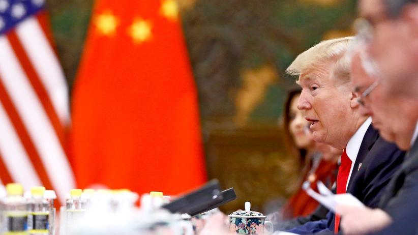 USA und China: US-Präsident Donald Trump traf Chinas Präsident Xi Jinping im November bei einem Besuch in Peking.