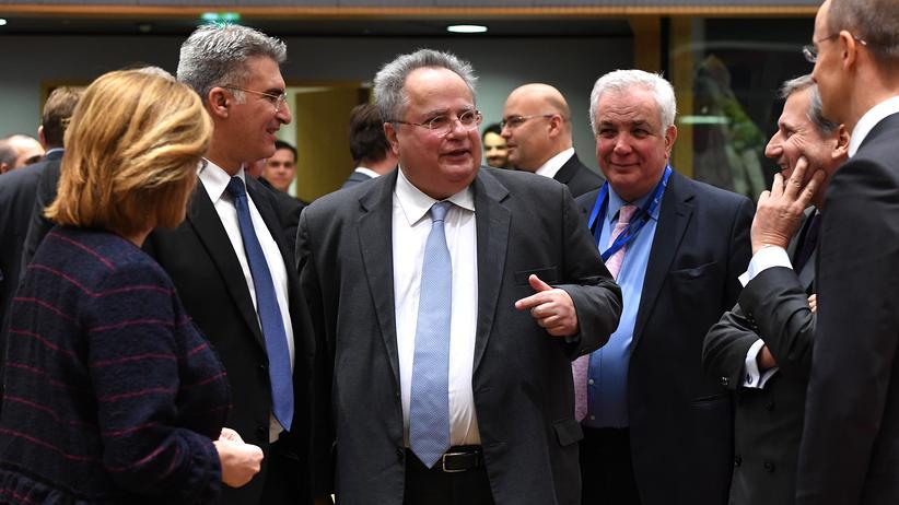 EU Außenministertreffen Brüssel