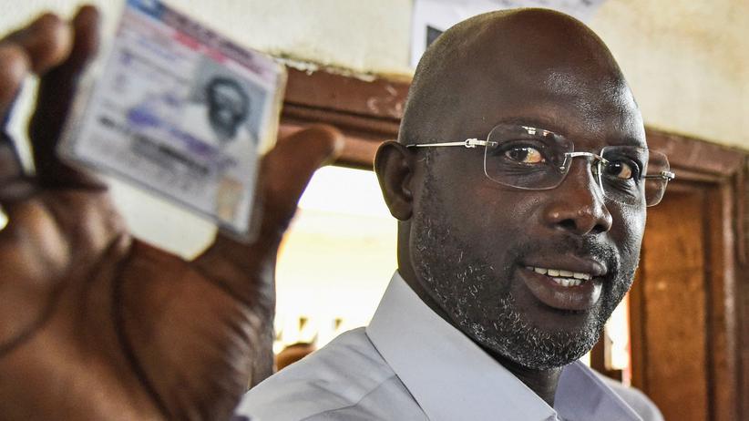 Ex-Fußballstar Weah neuer Präsident in Liberia