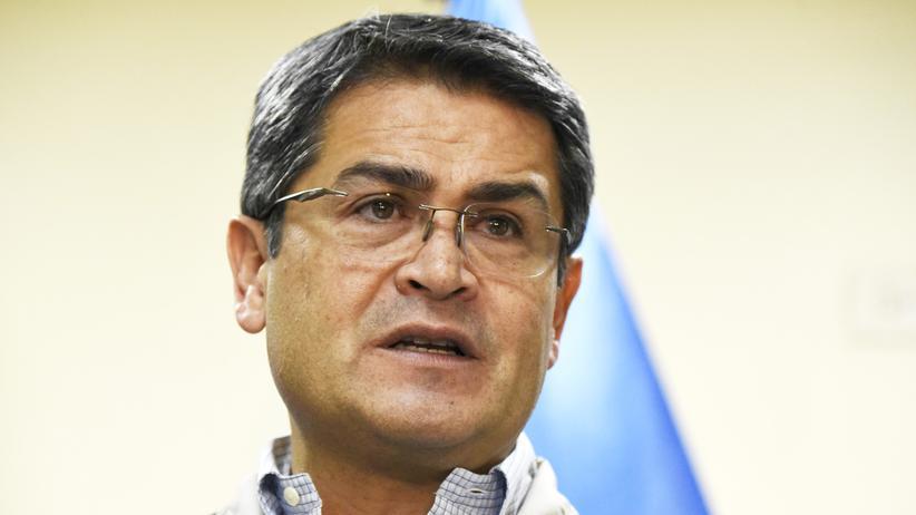 Honduras: Präsident Juan Orlando Hernández