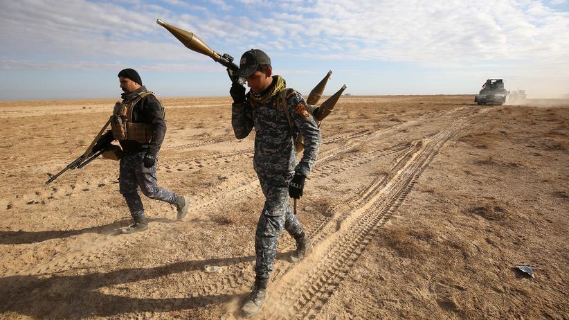 Islamischer Staat: Auch irakische Streitkräfte beteiligen sich an dem internationalen Militärbündnis gegen den IS.