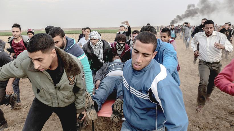 """Palästina : Verletzte bei Protesten am """"Tag des Zorns"""""""