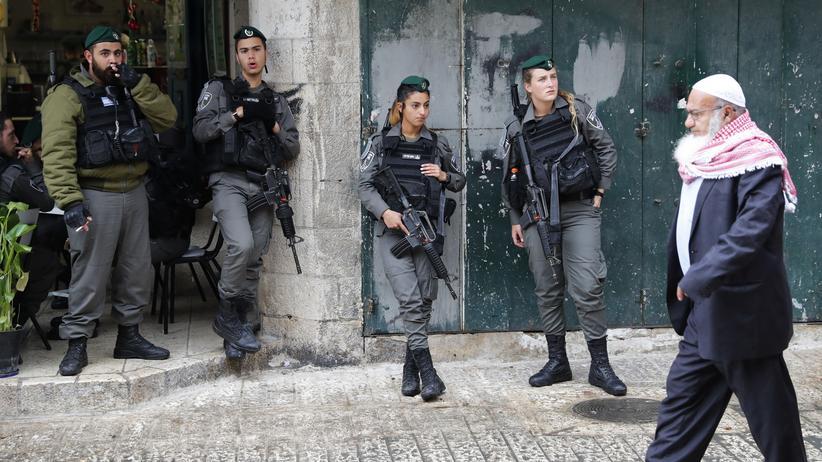 Israel: Straßenszene in der Altstadt von Jerusalem
