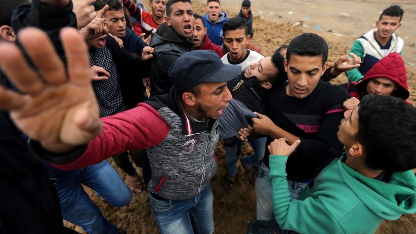 Israel: Zusammenstöße zwischen Palästinensern und Soldaten