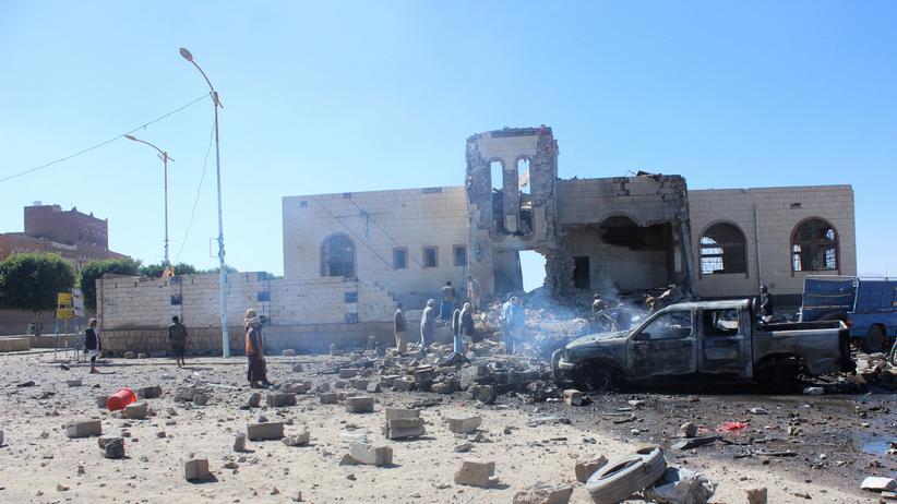 Huthi: Saudi-Arabien bombardiert Huthi-Standorte im Jemen