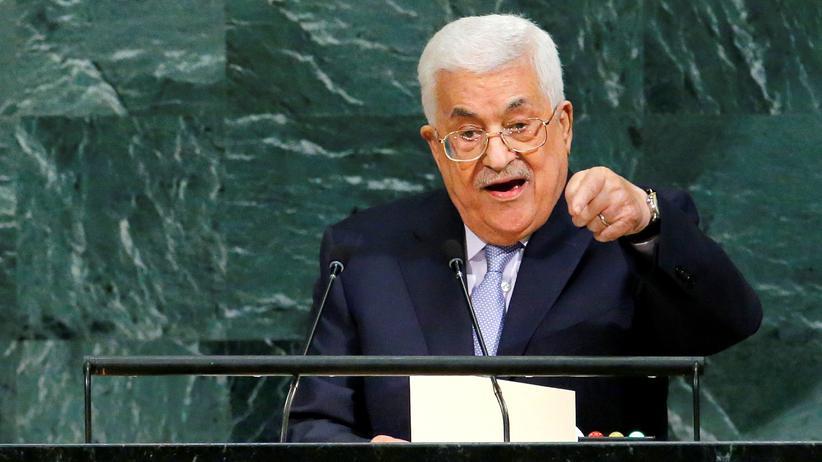 Jerusalem-Entscheidung: Abbas sieht Friedensprozess in Gefahr