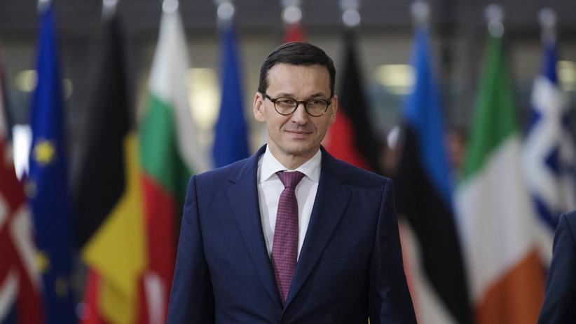 Justizreform in Polen: Polens neuer Ministerpräsident Mateusz Morawiecki in Brüssel