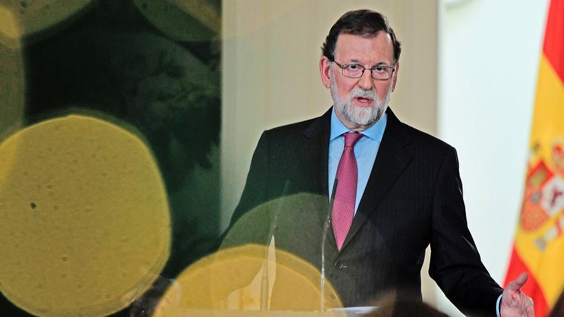 Mariano Rajoy Spanien Katalonien