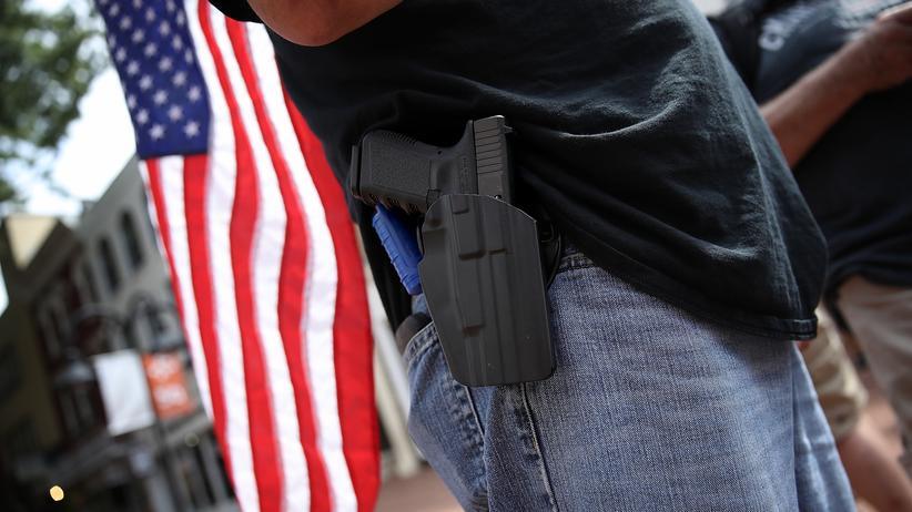 USA: Die Abgeordneten im US-Repräsentantenhaus stimmten für eine Lockerung der Beschränkungen beim verdeckten Tragen von Waffen.