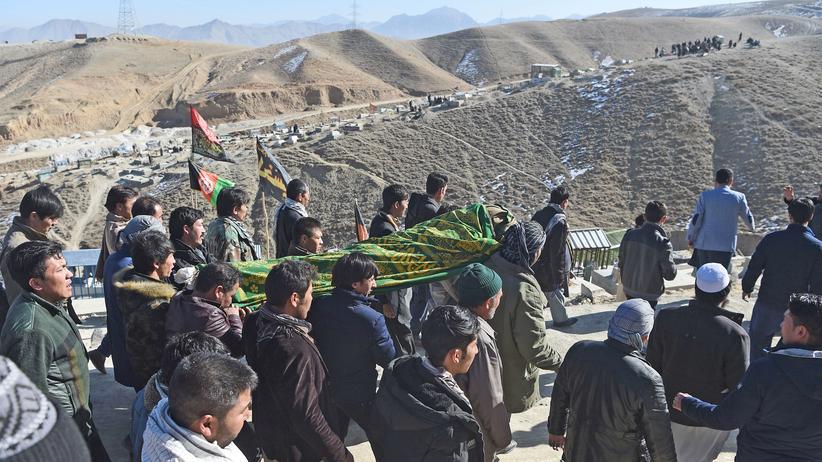 Terrorismus: Mindestens 17 Tote durch Anschlag in Afghanistan