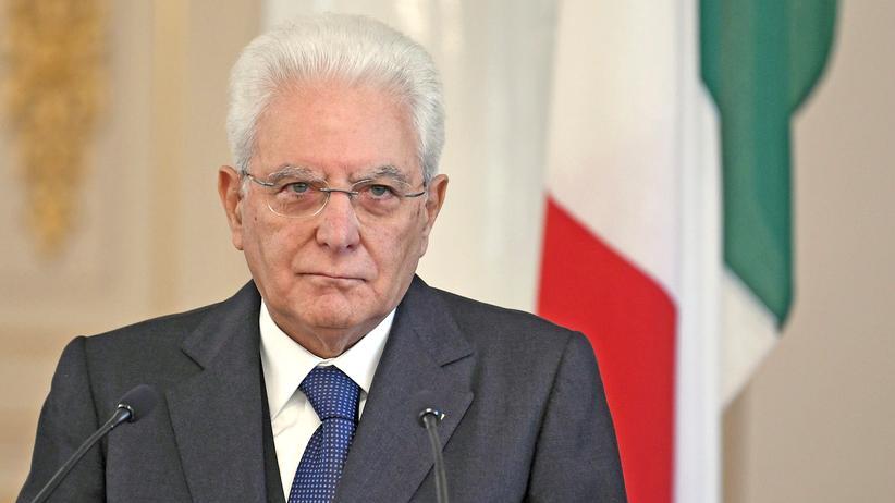 Sergio Mattarella Italien