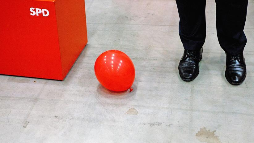 SPD Parteitag Logo Luftballon