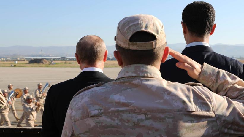 Wladimir Putin: Hofiert in Nahost