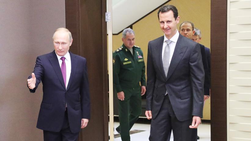 Syrien: Putin ordnet Teilabzug russischer Truppen an