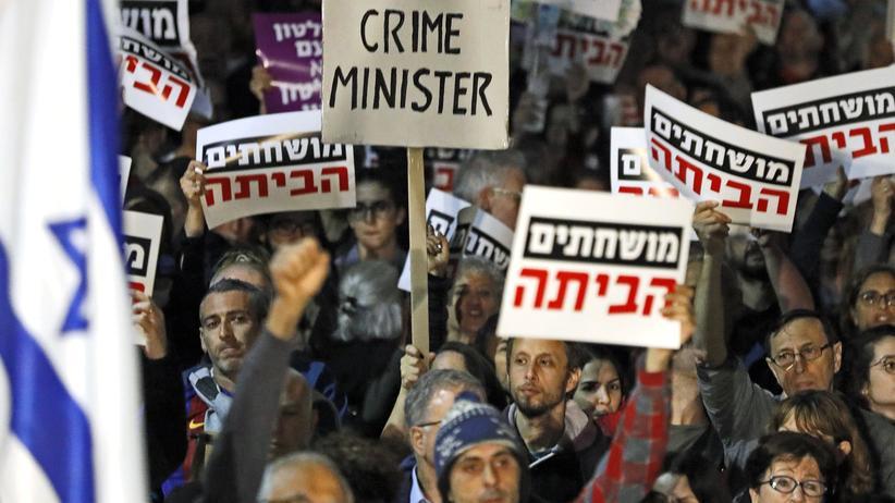 Israel: Proteste gegen Regierungschef Netanjahu