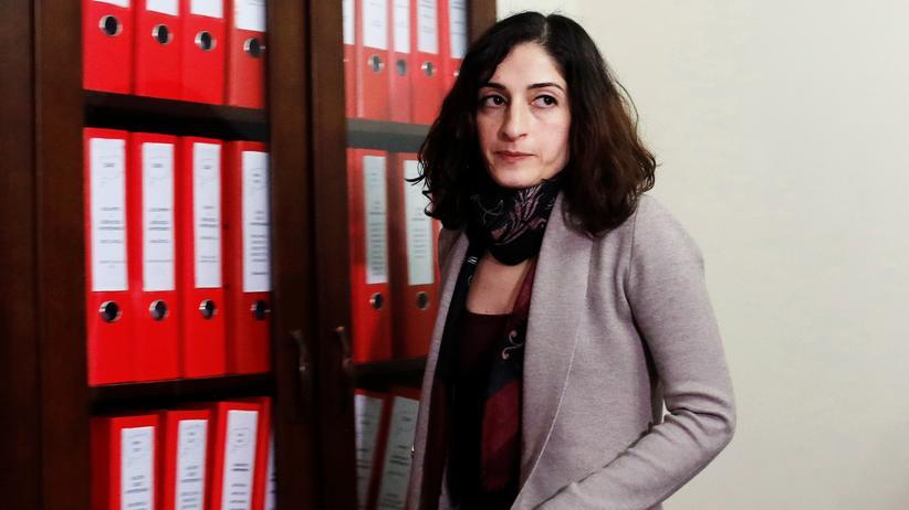Türkei: Die Journalistin Meşale Tolu nach ihrer Freilassung