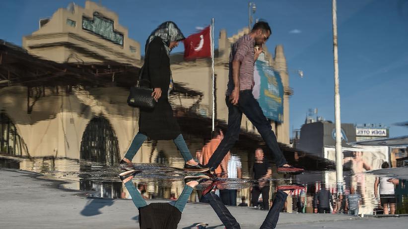 Türkische Staatsbürgerschaft: Straßenszene in Istanbul