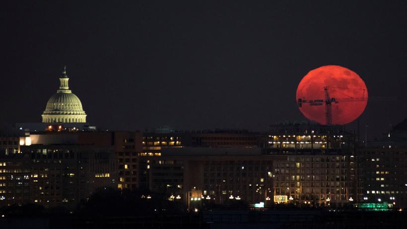 Raumfahrt Die Usa Planen Missionen Zu Mond Und Mars Zeit Online
