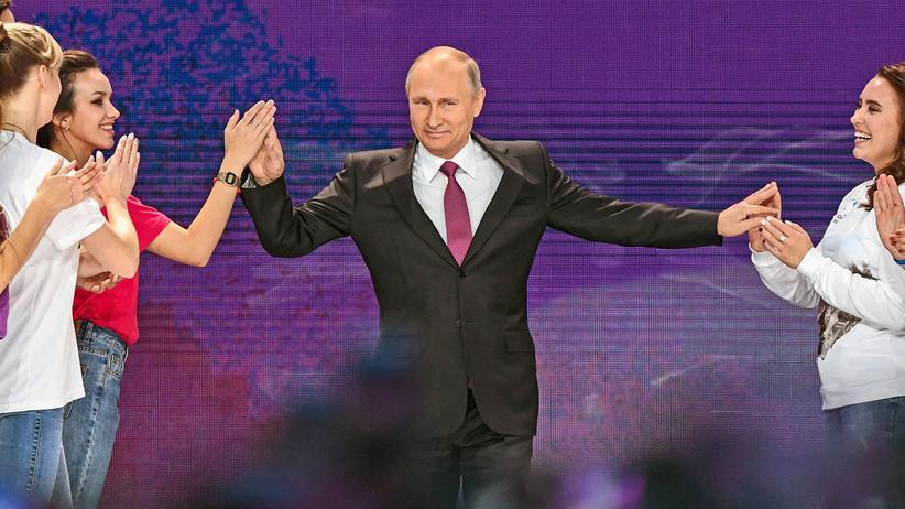 Wladimir Putin Amtszeit
