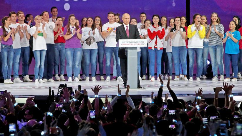 Russland: Die Wahl-Show