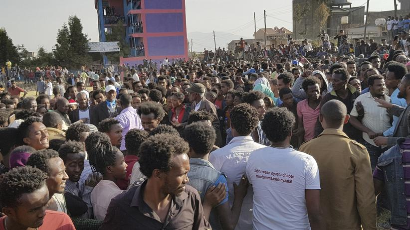 Äthiopien Proteste