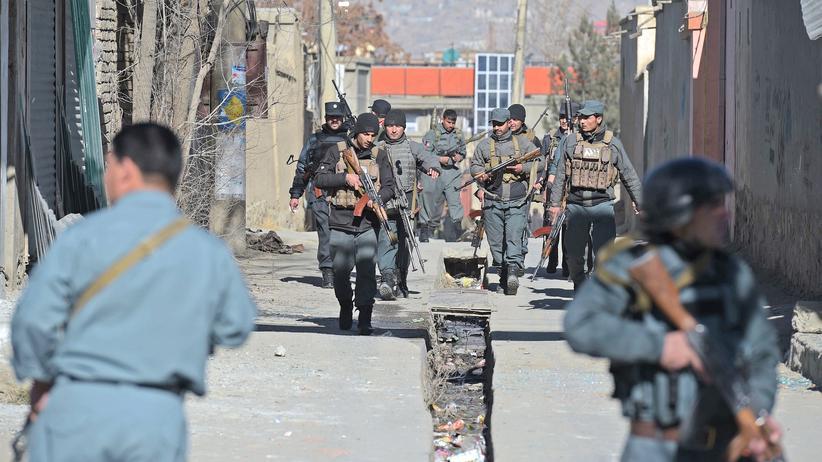 Afghanistan: Einsatzkräfte in Kabul (Archiv)