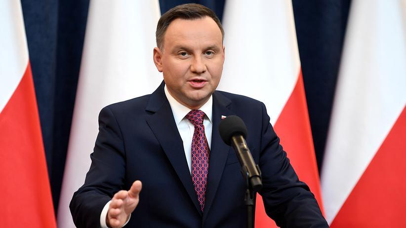 """Polen: Duda verteidigt Strafandrohung für Begriff """"polnische Todeslager"""""""