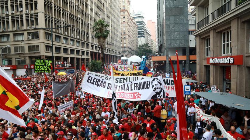 Brasilien: Tausende demonstrieren für Ex-Präsident Lula