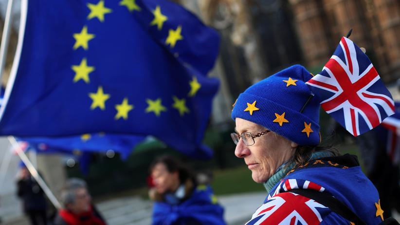 Brexit: Britisches Unterhaus verabschiedet Gesetz zum EU-Austritt