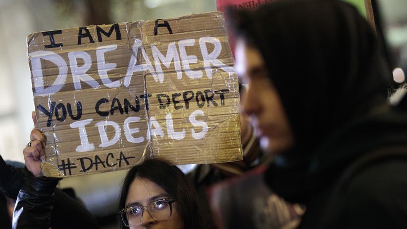 Daca-Programm: Proteste gegen die US-Einwanderungspolitik