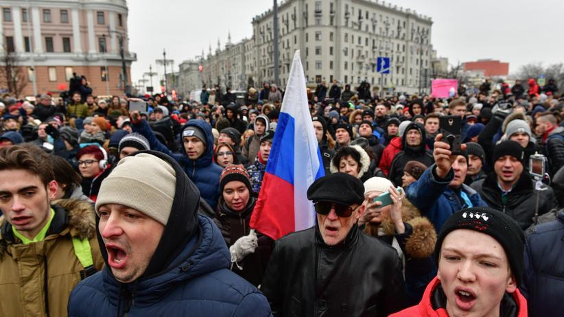 Russland: Nawalny aus Polizeigewahrsam entlassen
