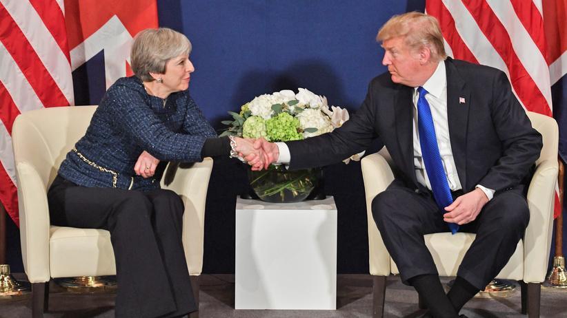 """Davos: Trump will """"Botschaft des Friedens und Wohlstands"""" verbreiten"""