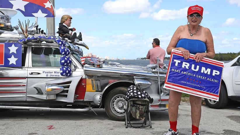 """US-Präsident: """"Es war ein großartiges Jahr für Trump"""""""