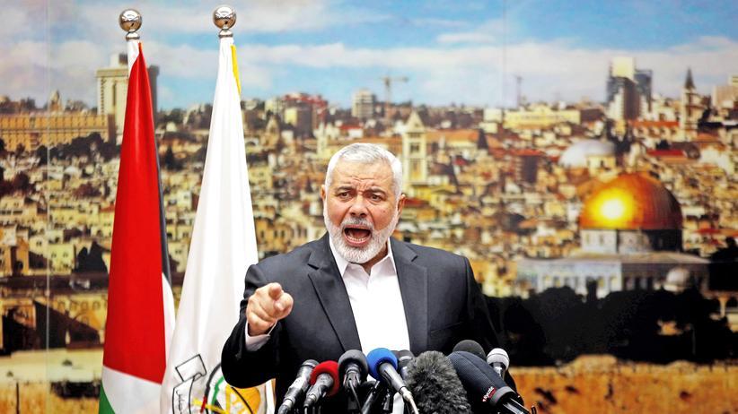 USA:Hamas-Anführer Ismail Hanija.