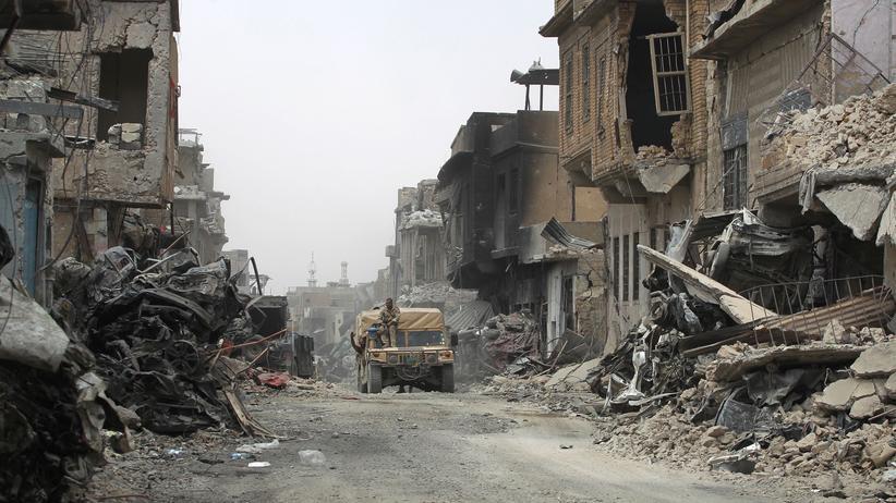 Islamischer Staat Terrorismus Mosul Irak