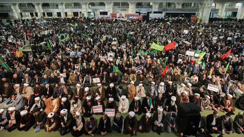 Iran: Zehntausende demonstrieren für das Regime