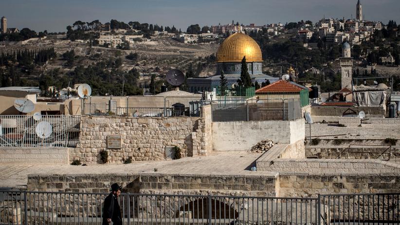 Knesset: Der Tempelberg in Jerusalem