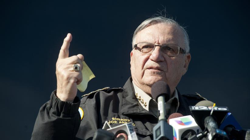 USA: Der ehemalige Sheriff von Maricopa County: Joe Arpaio