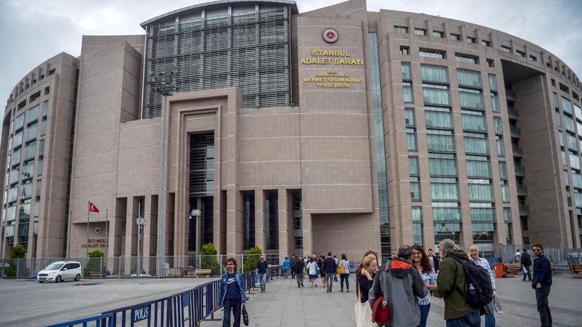 Haft: Das Gericht in Istanbul, in denen die Fälle der Journalisten Nazlı Ilıcak, Ahmet Altan and Mehmet Altan verhandelt wurden
