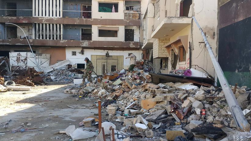 Libyen: Mehr als 20 Tote bei Doppelanschlag in Bengasi