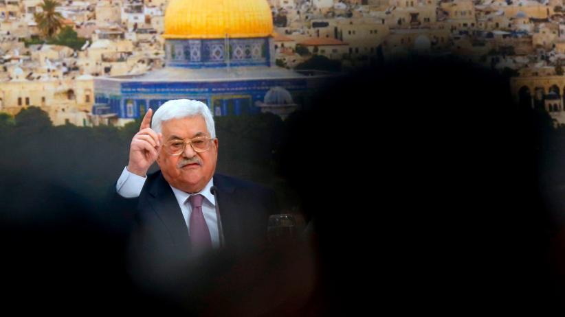 "Jerusalem: Abbas kritisiert US-Politik als ""Ohrfeige des Jahrhunderts"""